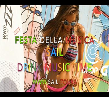 Picture of FESTA DELLA MUSICA 18 Giu. Brescia - SAIL - DRINK MUSIC TIME