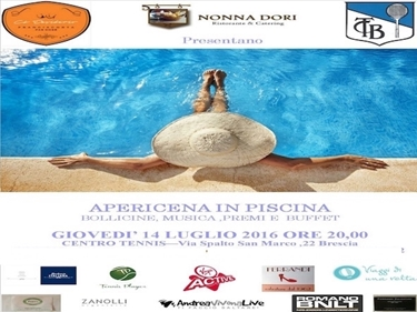 Imagen de APERICENA IN PISCINA - 14 LUGLIO ORE  20:00 Brescia - POOL PARTY SAIL TIME