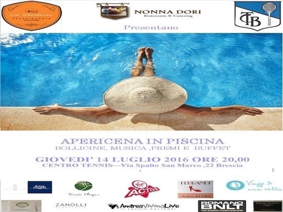 Immagine di APERICENA IN PISCINA - 14 LUGLIO ORE  20:00 Brescia - POOL PARTY SAIL TIME