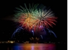 Picture of BATTELLATA FIREWORKS Thursday, August 11 TOSCOLANO MADERNO LAKE GARDA