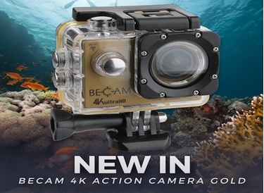 Immagine di ACTION CAMERA PRO BECAM 4K ULTRA HD BEST DIVERS