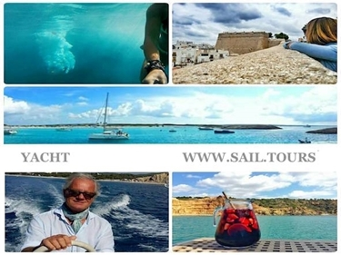 Picture of WEEK - French Riviera OR Ibiza & Formentera - YACHT - QUOTE CABIN CHARTER double ALL INCLUSIVE